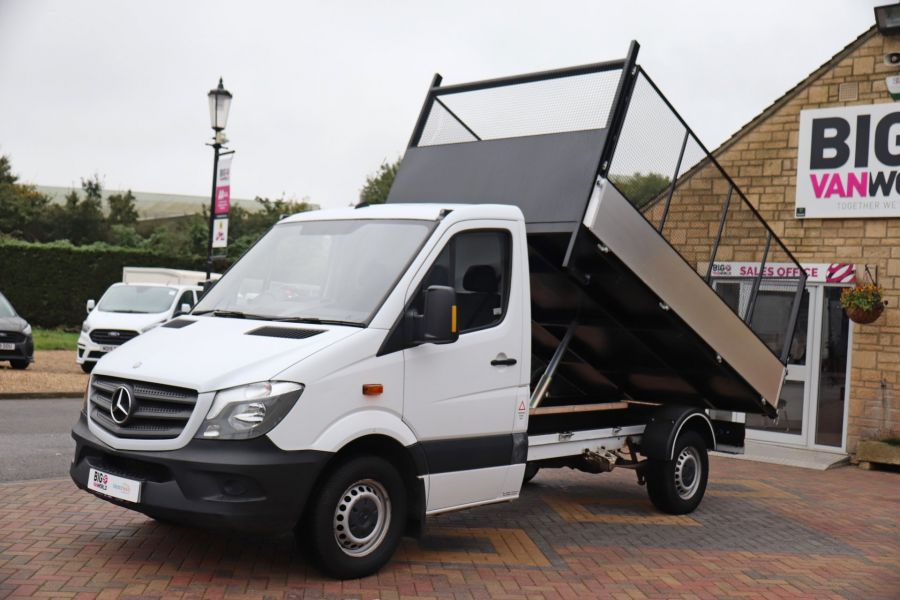 MERCEDES SPRINTER 313 CDI 129 MWB SINGLE CAB NEW BUILD CAGED TIPPER  - 10825 - 19
