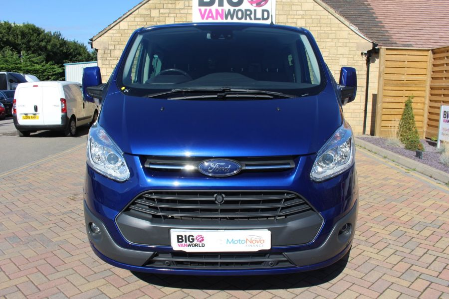 FORD TRANSIT CUSTOM 290 TDCI 155 L2 H1 LIMITED DOUBLE CAB LWB LOW ROOF - 6509 - 9