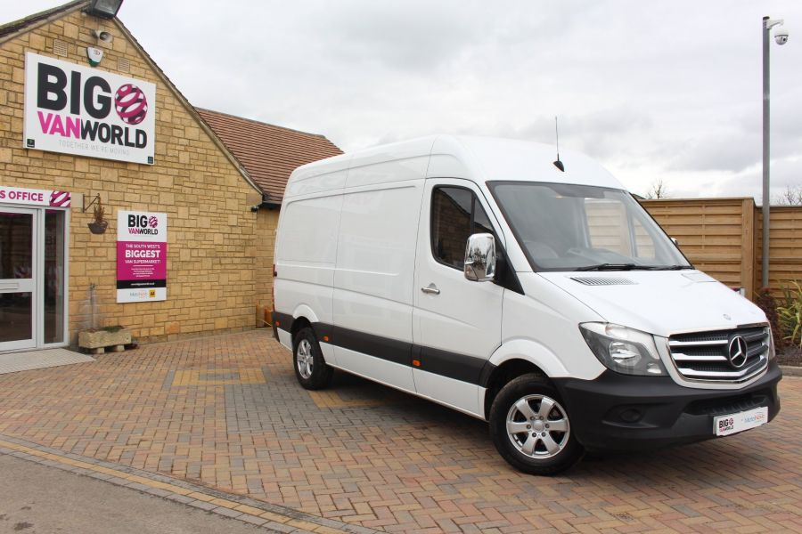 MERCEDES SPRINTER 313 CDI MWB HIGH ROOF - 7486 - 1