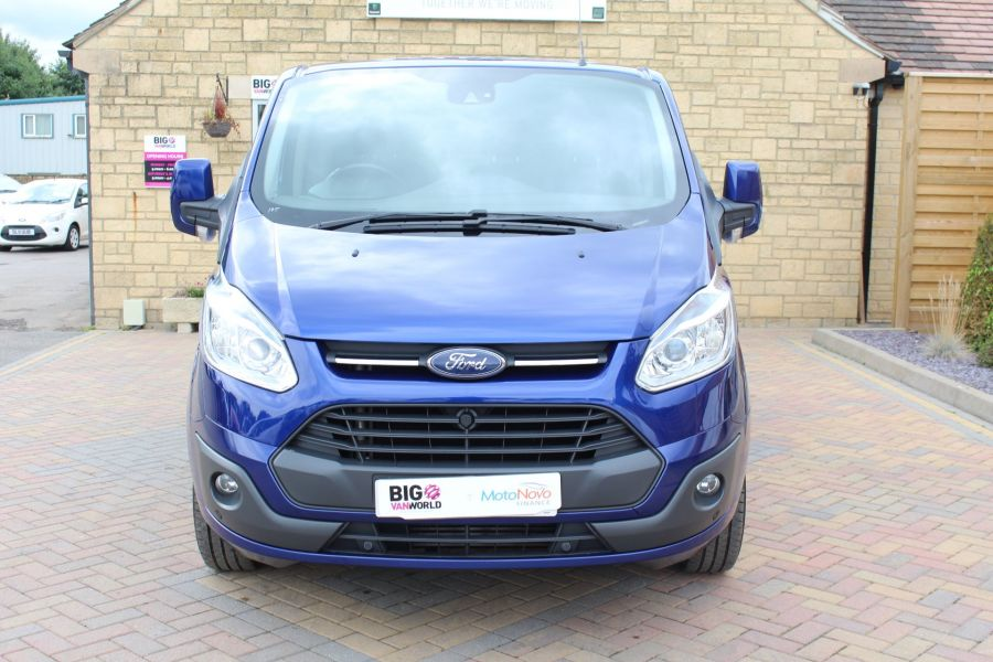 FORD TRANSIT CUSTOM 270 TDCI 155 LIMITED L1 H1 SWB LOW ROOF FWD - 6586 - 9