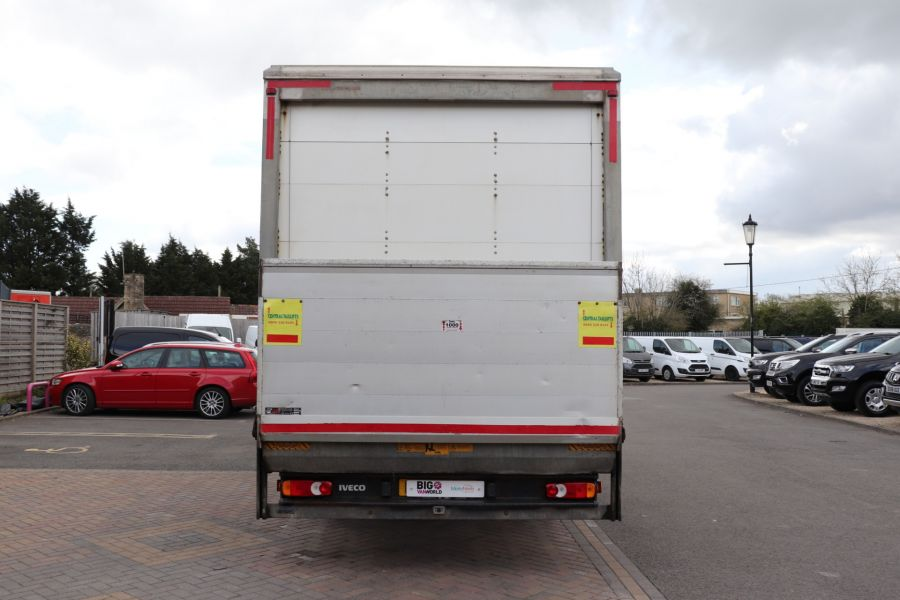 IVECO EUROCARGO  75E16S 4X2 GRP BOX WITH TAIL LIFT  (13925) - 12206 - 9