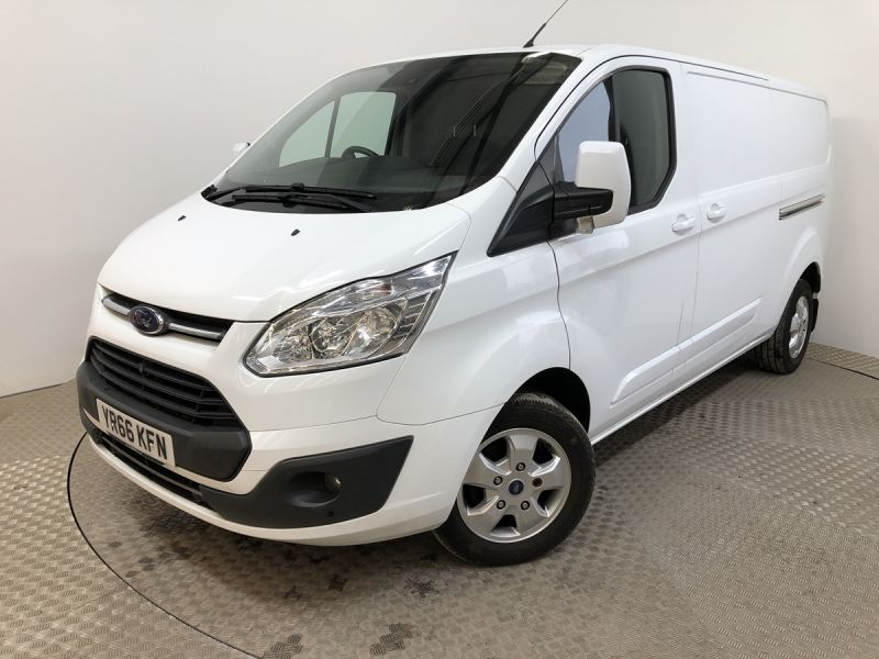 FORD TRANSIT CUSTOM 290 TDCI 130 L2H1 LIMITED LWB LOW ROOF FWD - 11915 - 5