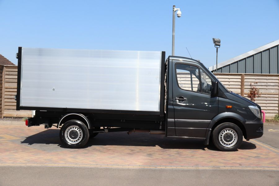 MERCEDES SPRINTER 313 CDI 129 SINGLE CAB NEW BUILD HIGH SIDED ALLOY TIPPER - 9672 - 15