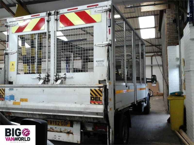 IVECO DAILY 70C18 3450 WB SINGLE CAB ALLOY CAGED TIPPER WITH TAIL LIFT - 9614 - 2