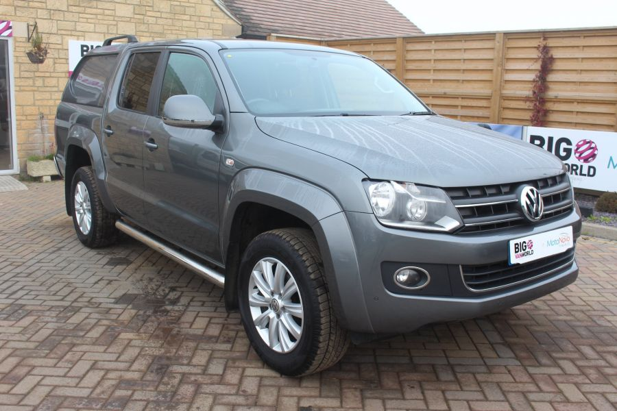 VOLKSWAGEN AMAROK TDI 180 HIGHLINE 4MOTION DOUBLE CAB WITH TRUCKMAN TOP AUTO - 6906 - 3