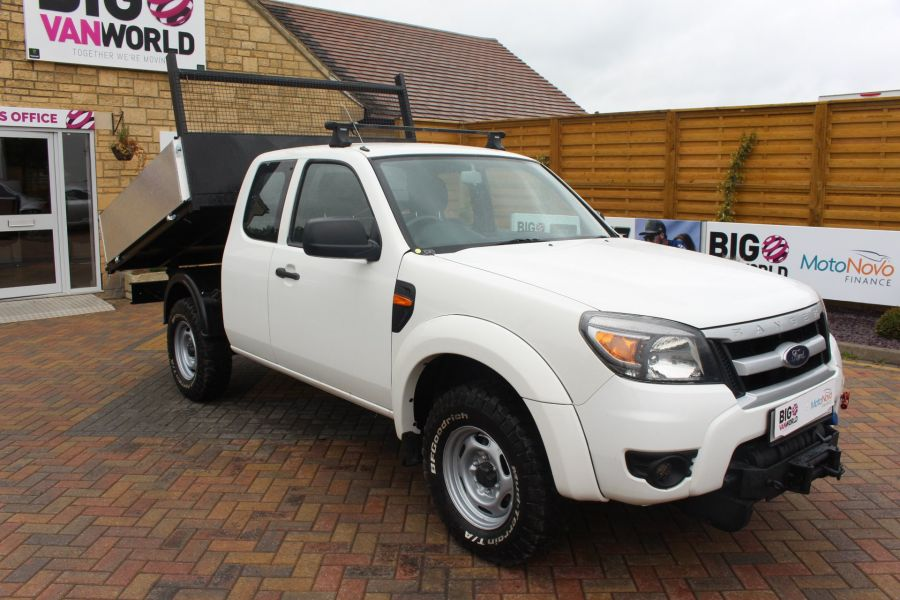 FORD RANGER XL 4X4 TDCI SUPER CAB ALLOY TIPPER - 6055 - 3