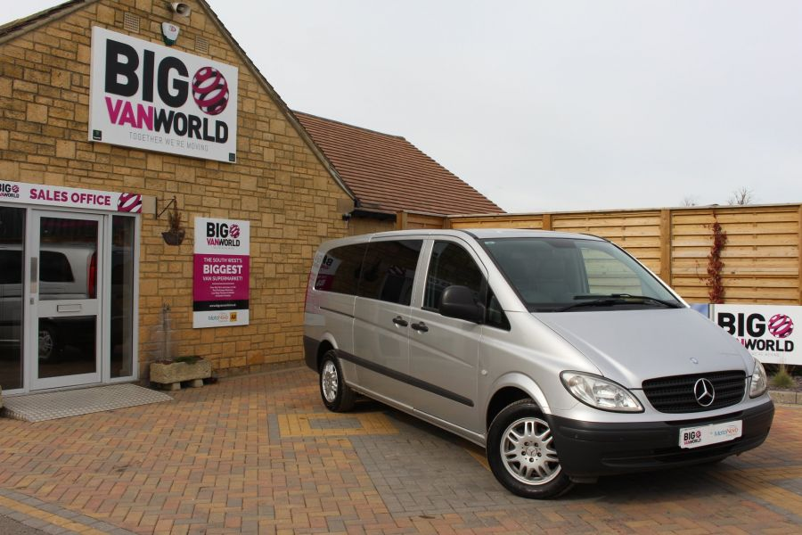 MERCEDES VITO 115 CDI EXTRA LONG 9 SEAT TRAVELINER - 7582 - 2