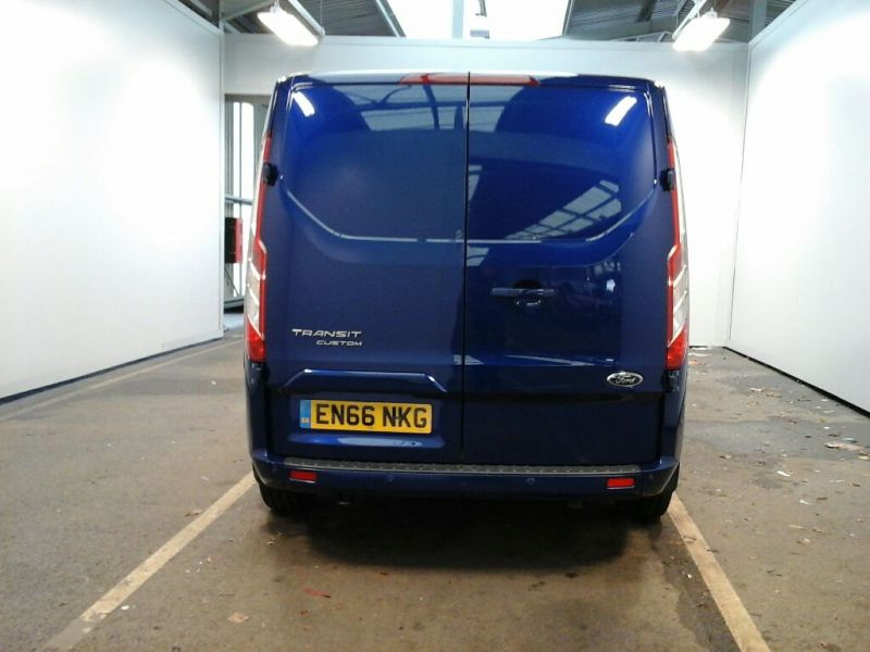 FORD TRANSIT CUSTOM 310 TDCI 130 L2 H1 LIMITED DOUBLE CAB 6 SEAT CREW VAN LWB LOW ROOF FWD - 8968 - 2
