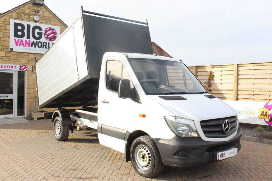 MERCEDES SPRINTER 313 CDI 129 MWB SINGLE CAB NEW BUILD ARBORIST ALLOY TIPPER - 10501 - 3