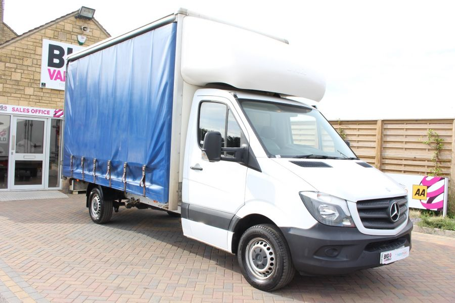 MERCEDES SPRINTER 313 CDI 129 LWB CURTAINSIDER - 7969 - 1