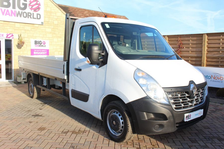 RENAULT MASTER LL35 DCI 125 BUSINESS LWB ALLOY DROPSIDE - 6657 - 3