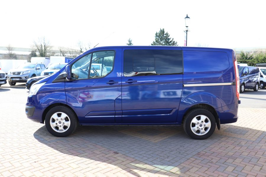 FORD TRANSIT CUSTOM 310 TDCI 130 L1H1 LIMITED DOUBLE CAB 6 SEAT CREW VAN FWD - 10553 - 8