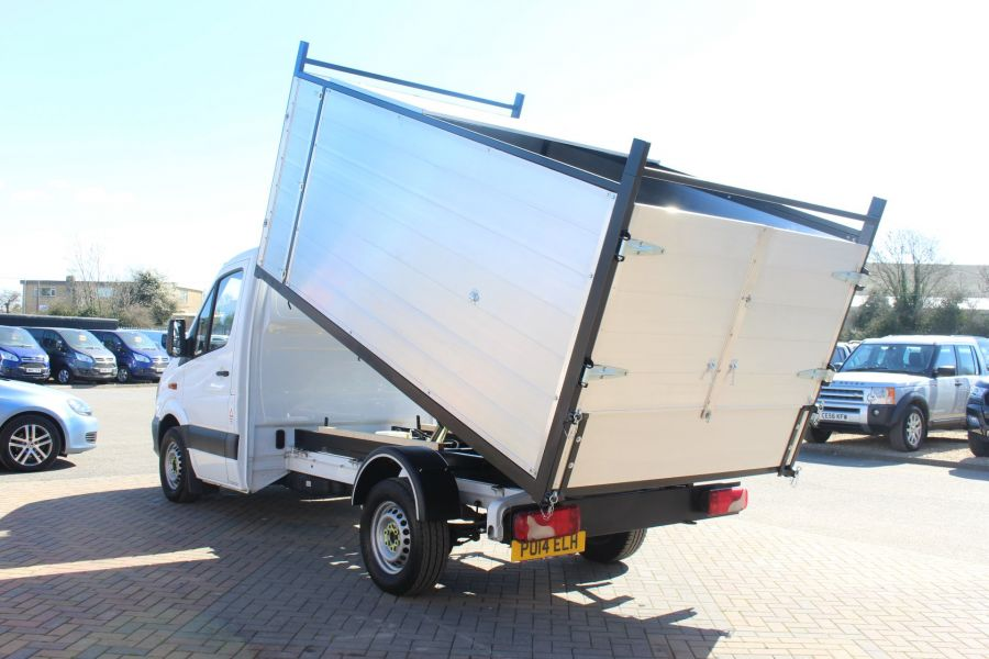 MERCEDES SPRINTER 313 CDI 129 MWB SINGLE CAB NEW BUILD ARBORIST ALLOY TIPPER - 9307 - 6