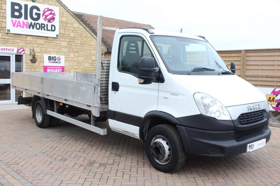IVECO DAILY 70C17 16FT ALLOY DROPSIDE - 7217 - 3