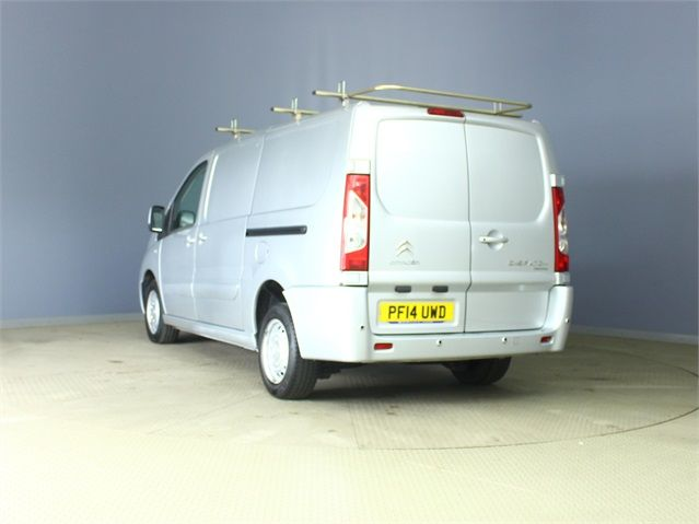 CITROEN DISPATCH 1200 HDI 125 L2 H1 ENTERPRISE LWB LOW ROOF - 6573 - 4