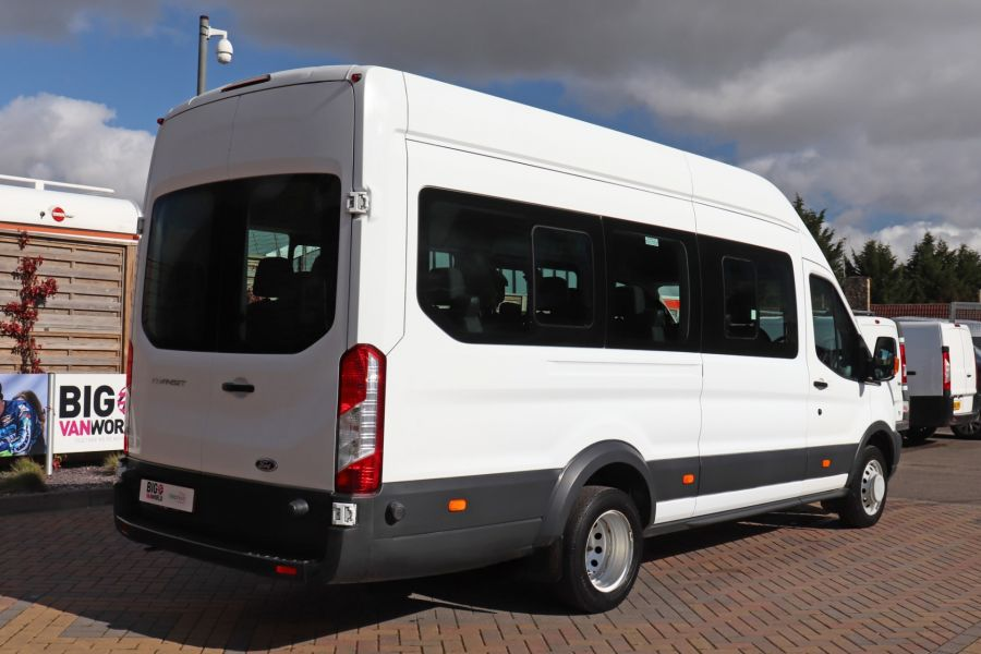 FORD TRANSIT 460 TDCI 125 L4H3 17 SEAT BUS HIGH ROOF DRW RWD - 10341 - 6