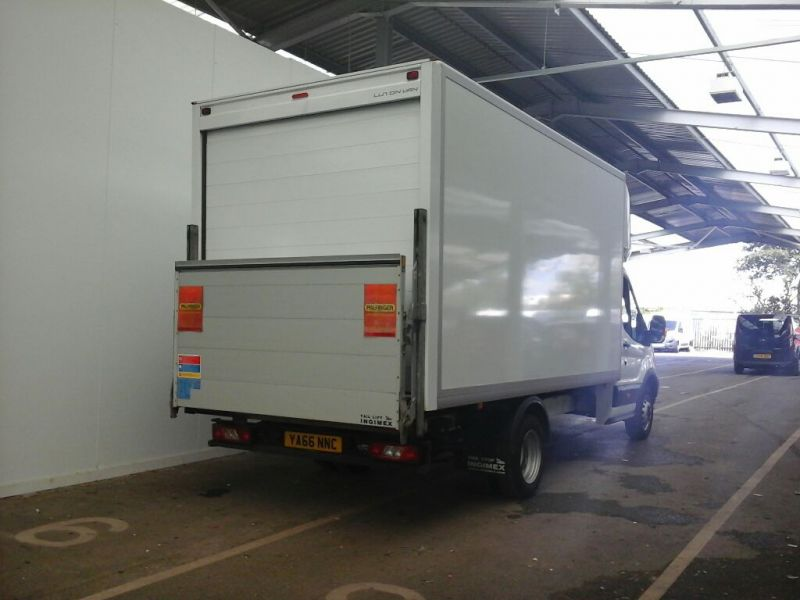 FORD TRANSIT 350 TDCI 130 L4 'ONE STOP' LUTON WITH TAIL LIFT DRW RWD - 9852 - 2