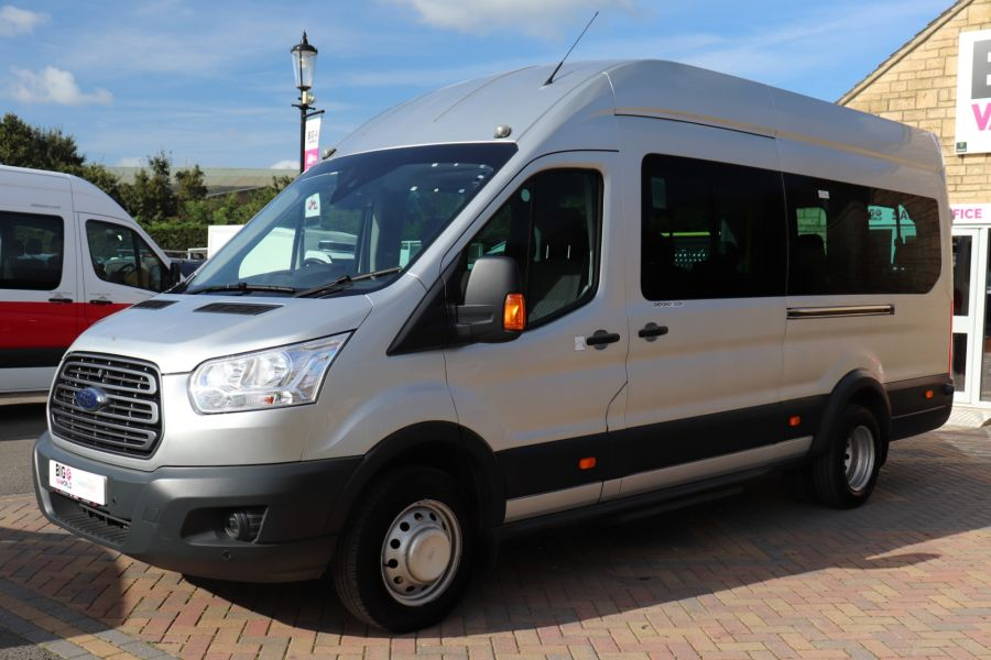 FORD TRANSIT 460 TDCI 155 L4H3 TREND 17 SEAT BUS HIGH ROOF DRW RWD  - 9893 - 8