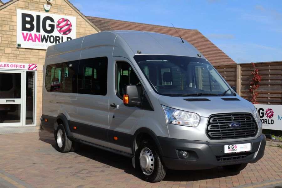 FORD TRANSIT 460 TDCI 155 L4H3 TREND 17 SEAT BUS HIGH ROOF DRW RWD  - 9893 - 2