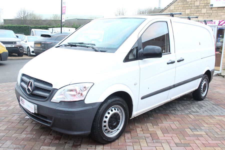 MERCEDES VITO 113 CDI 136 COMPACT SWB LOW ROOF - 7100 - 8