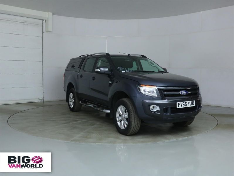 FORD RANGER WILDTRAK TDCI 4X4 DOUBLE CAB WITH TRUCKMAN TOP - 8962 - 1