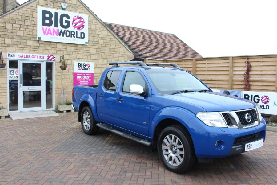 NISSAN NAVARA OUTLAW DCI 231 4X4 SHR DOUBLE CAB WITH ROLL'N'LOCK TOP - 6936 - 2
