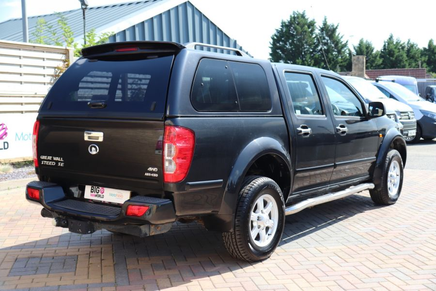 GREAT WALL STEED TD 141 SE 4X4 DOUBLE CAB WITH TRUCKMAN TOP - 9849 - 5