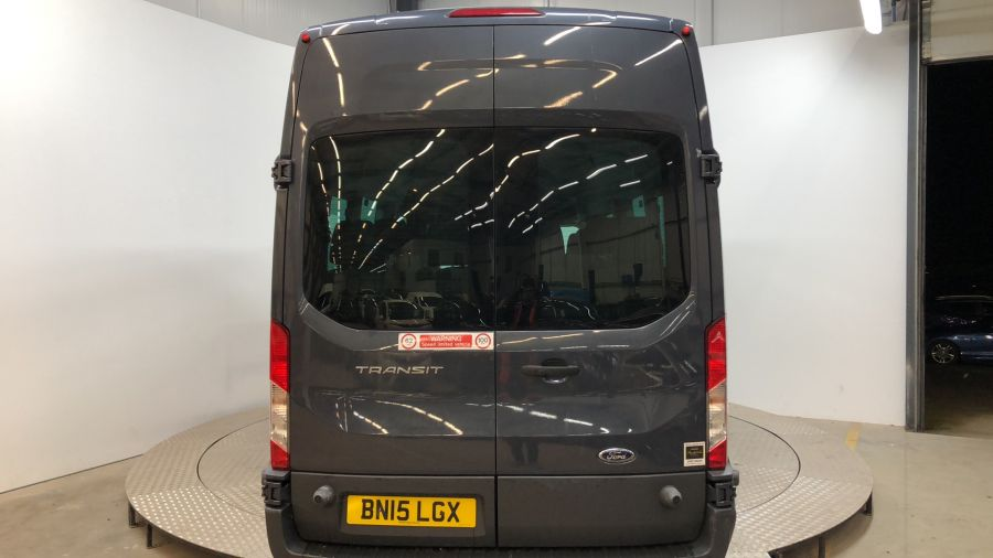 FORD TRANSIT 460 TDCI 155 L4H3 TREND 17 SEAT BUS HIGH ROOF DRW RWD - 11705 - 4