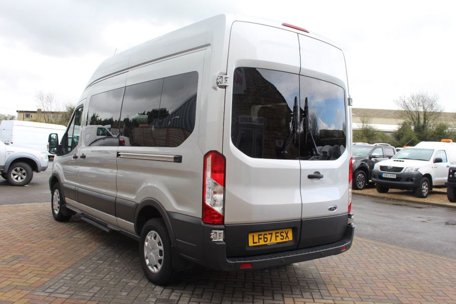 FORD TRANSIT 410 TDCI 155 L3 H3 TREND 15 SEAT BUS LWB HIGH ROOF RWD - 9122 - 5