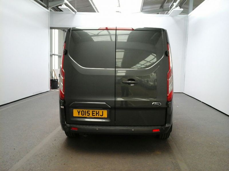 FORD TRANSIT CUSTOM 290 TDCI 125 L1 H1 LIMITED SWB LOW ROOF FWD - 8218 - 3
