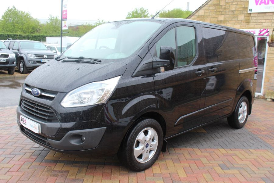 FORD TRANSIT CUSTOM 270 TDCI 125 L1 H1 LIMITED SWB LOW ROOF FWD - 7611 - 8
