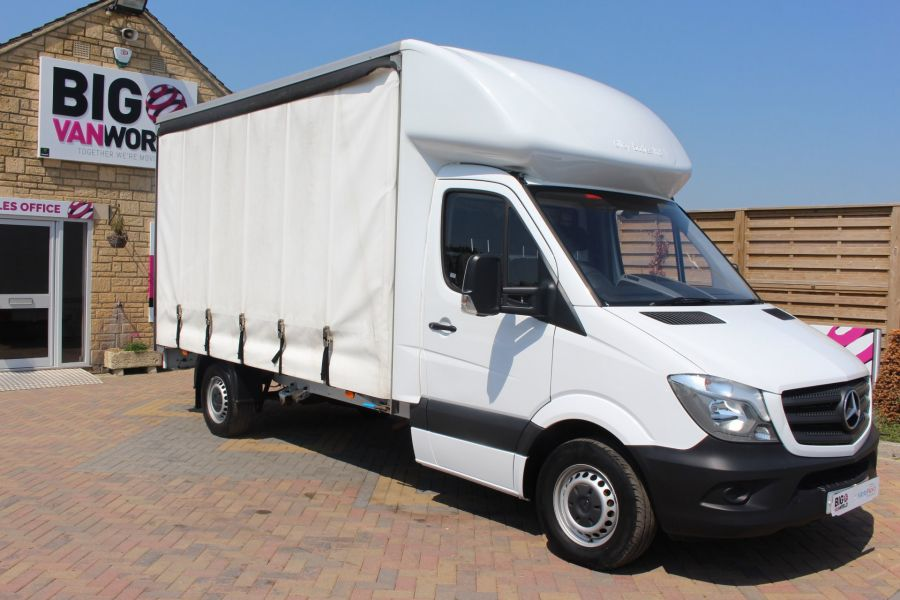 MERCEDES SPRINTER 314 CDI 140 CURTAINSIDER - 7665 - 3