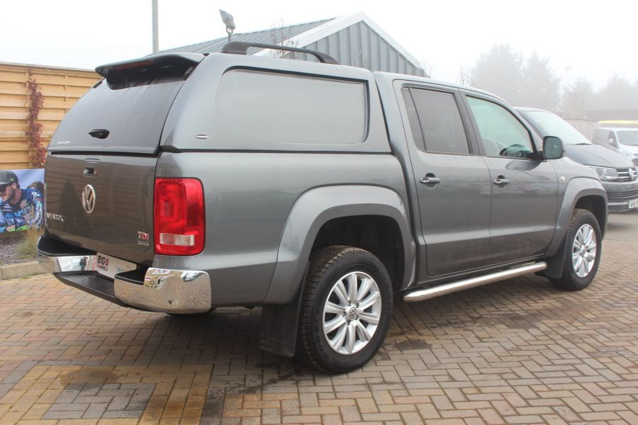 VOLKSWAGEN AMAROK TDI 180 HIGHLINE 4MOTION DOUBLE CAB WITH TRUCKMAN TOP AUTO - 6906 - 5