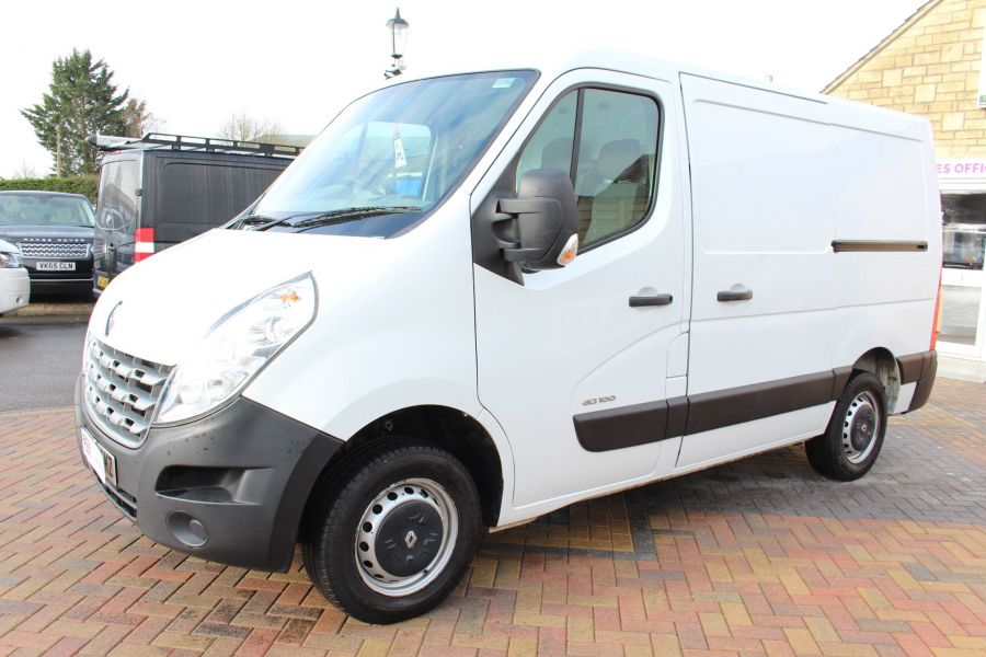 RENAULT MASTER SL33 DCI 100 SWB LOW ROOF FWD - 7248 - 8