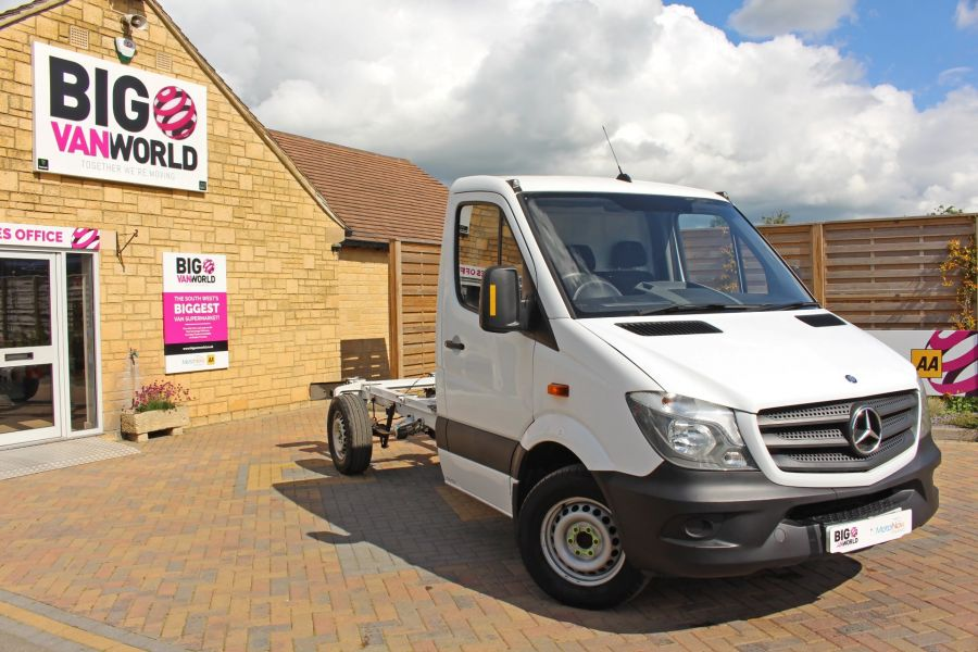 MERCEDES SPRINTER 313 CDI 129 MWB CHASSIS CAB - 9689 - 1