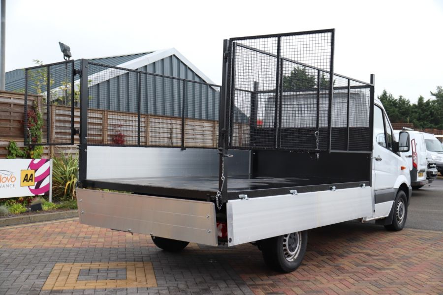 MERCEDES SPRINTER 313 CDI 129 MWB SINGLE CAB NEW BUILD ALLOY CAGED TIPPER - 9685 - 36