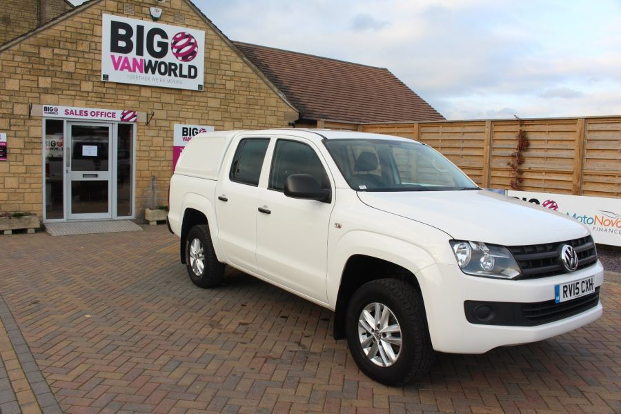 VOLKSWAGEN AMAROK DC TDI 140 STARTLINE 4MOTION DOUBLE CAB WITH TRUCKMAN TOP - 8652 - 3