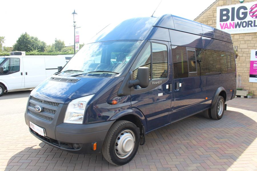 FORD TRANSIT 430 TDCI 135 LWB HIGH ROOF 17 SEATS BUS - 6332 - 7