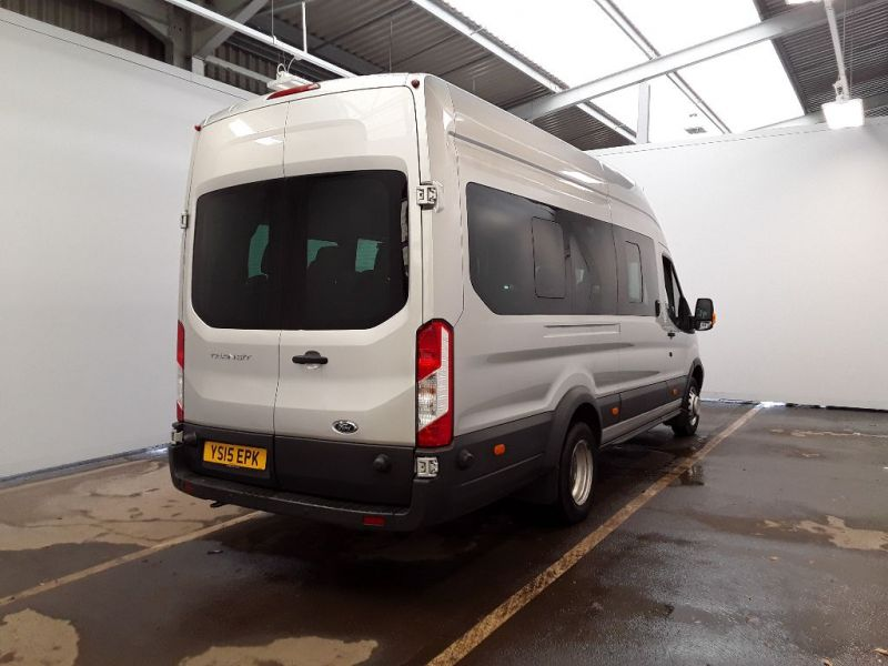 FORD TRANSIT 460 TDCI 155 L4H3 TREND 17 SEAT BUS HIGH ROOF DRW RWD - 11442 - 3