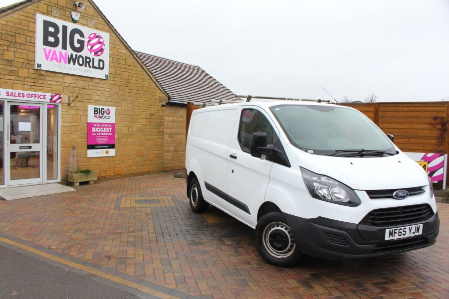 FORD TRANSIT CUSTOM 270 TDCI 125 L1 H1 SWB LOW ROOF FWD - 8450 - 2