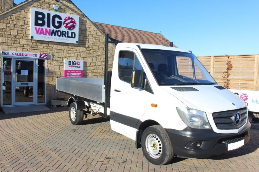 MERCEDES SPRINTER 313 CDI MWB SINGLE CAB NEW BUILD ALLOY TIPPER - 8728 - 6