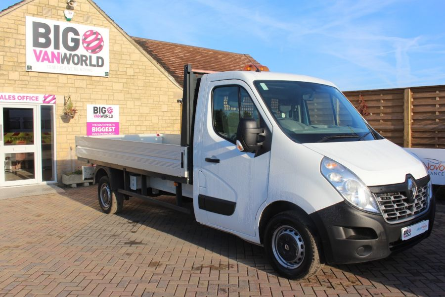 RENAULT MASTER LL35 DCI 125 BUSINESS LWB ALLOY DROPSIDE - 6657 - 2