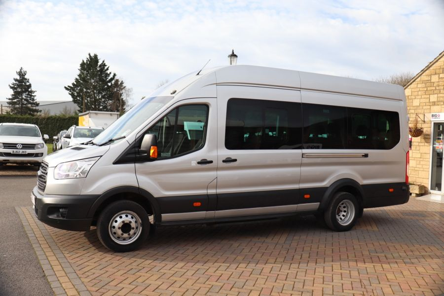 FORD TRANSIT 460 TDCI 155 L4H3 TREND 17 SEAT BUS HIGH ROOF DRW RWD - 10415 - 9
