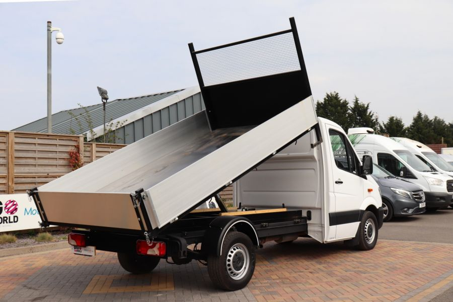 MERCEDES SPRINTER 313 CDI 129 MWB SINGLE CAB NEW BUILD ALLOY TIPPER - 10630 - 17