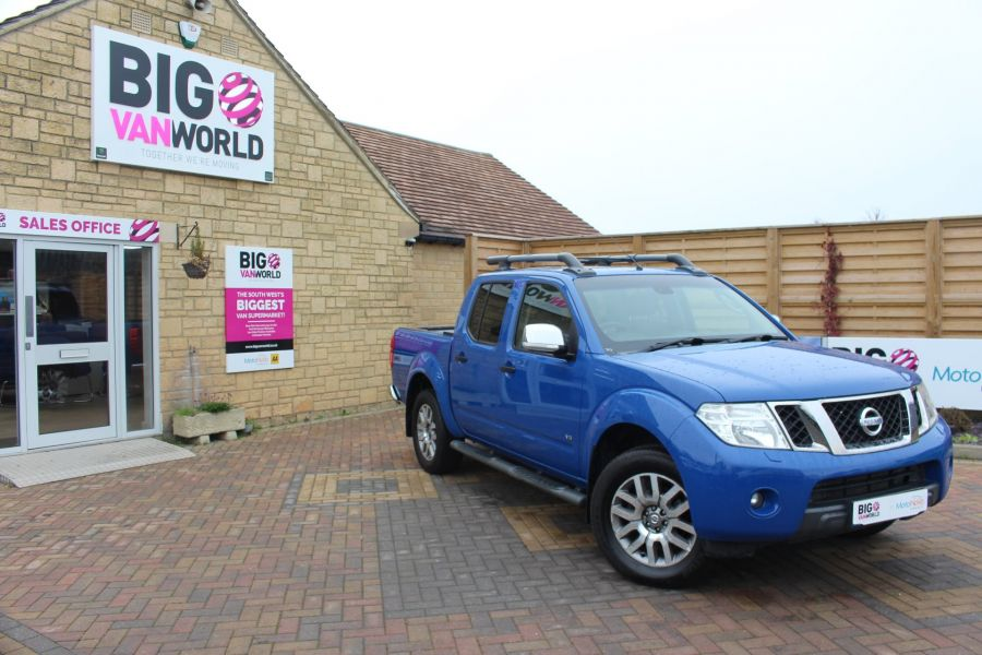 NISSAN NAVARA OUTLAW DCI 231 4X4 SHR DOUBLE CAB WITH ROLL'N'LOCK TOP - 6936 - 1