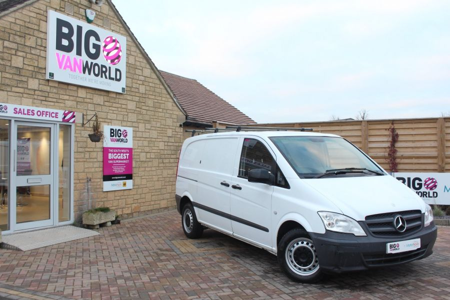 MERCEDES VITO 113 CDI 136 COMPACT SWB LOW ROOF - 7100 - 1
