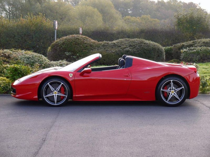 FERRARI 458 SPIDER DCT LHD UK REGISTERED - 2983 - 12