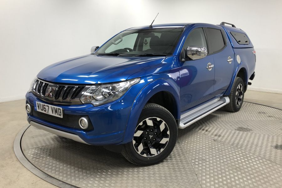 MITSUBISHI L200 DI-D 178 4WD BARBARIAN DOUBLE CAB WITH TRUCKMAN TOP  (13999) - 12243 - 7