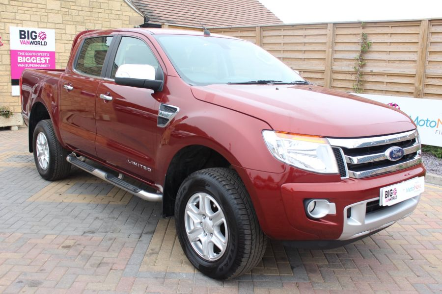 FORD RANGER TDCI 150 LIMITED 4X4 DOUBLE CAB - 8027 - 1
