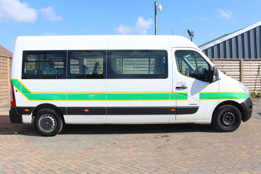 RENAULT TRUCKS MASTER LM35 DCI 100 L3 H2 8 SEAT PASSENGER TRANSPORT BUS AMBULANCE WITH WHEELCHAIR ACCESS LWB MEDIUM ROOF - 9138 - 4